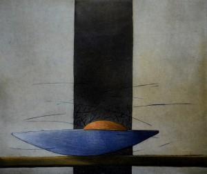 """""""Apelsin"""" Etsning, 30 x 35 cm"""