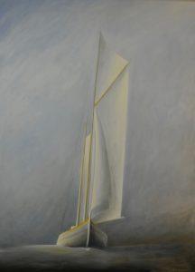 Bo Cronqvist, Oilpainting 130 x 95 cm