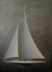 Bo Cronqvis, Oilpainting 130 x 95 cm