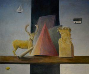 Bo Cronqvist, Oilpainting 150x180 cm